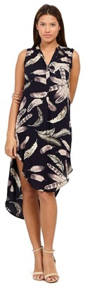 M&Co Izabel floral asymmetric dress