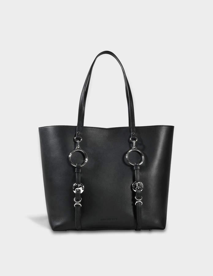 Alexander Wang Ace Tote Bag in Black Cowskin