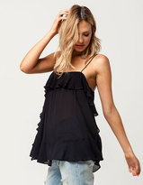 Free People Cascades Womens Tank