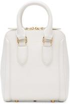 Alexander McQueen White Small Heroine Bag