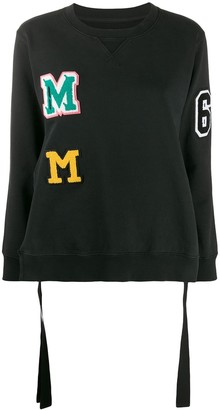 MM6 MAISON MARGIELA Logo Patches Sweatshirt