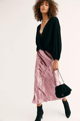 Bali Solid Serious Swagger Skirt by at Free People