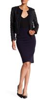 Catherine Catherine Malandrino Slim Pull-On Skirt