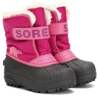 Sorel Kids Snow Commander ankle boots
