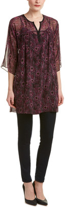 Nanette Lepore Perfect Printed Silk Tunic