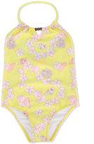 Sunuva - floral print swimsuit - kids - Polyamide/Spandex/Elastane - 2 yrs
