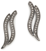 Rebecca Minkoff Swirl Stud Earrings