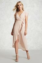 Forever 21 FOREVER 21+ Wrap-Front Maxi Dress