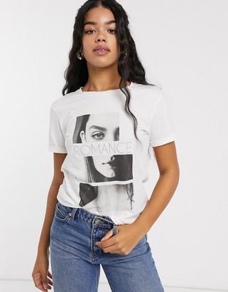 JDY Carla short sleeve romance t-shirt