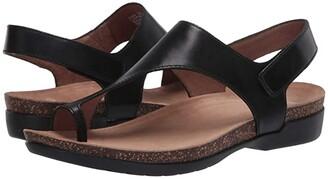 Dansko Reece (Stone Waxy Burnished) Women's Sandals