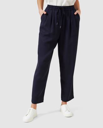 French Connection Women's Pants - Soft Lyocell Pants - Size One Size, 10 at The Iconic