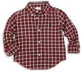 Ralph Lauren Baby's Cotton Twill Plaid Shirt