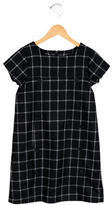 Jacadi Girls' Plaid Wool-Blend Dress
