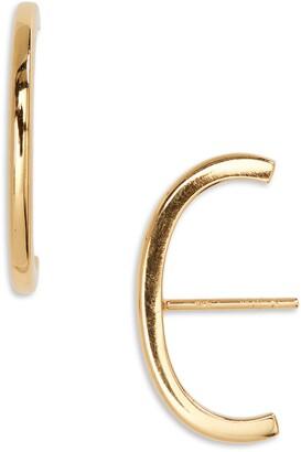 Argentovivo Suspender Stud Earrings