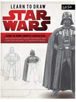 Star Wars Learn to Draw Learn to Draw Favorite Characters, Including Darth Vader, Han Solo, and Luke