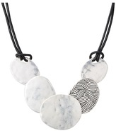 The Sak Frontal Disc Necklace