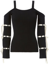 Exclusive for Intermix Giselle Bow Knit Top