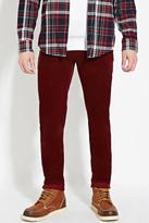 Forever 21 Slim Fit Corduroy Pants