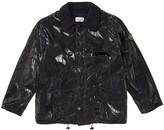 Stone Island Supreme X Black Silk Jackets
