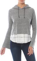 Generation Love Adeline Hoodie Sweatshirt With Plaid