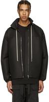 Rick Owens Black Hooded Coat