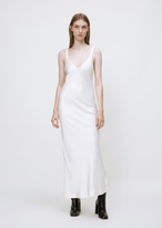 Haider Ackermann kuiper cream camisole dress