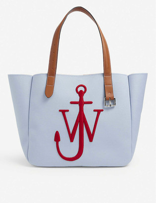 J.W.Anderson Belt recycled-canvas tote bag