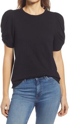 Everleigh Knot Sleeve T-Shirt