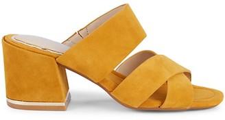 Kenneth Cole New York Maisie Suede Heeled Sandals