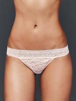 Gap Super soft lace thong