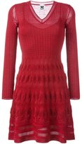 M Missoni v-neck knit dress