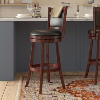 Charlton Home Terranova Bar & Counter Swivel Stool Seat Height: Bar Stool (29.94a Seat Height)