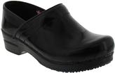 Sanita Black Professional Mila Leather Clog - Women