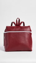 Kara Pebble Leather Backpack
