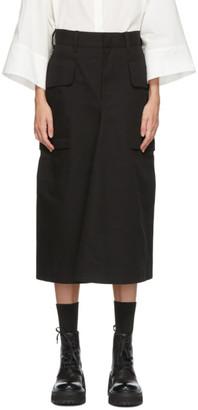 Y's Ys Black Pocket Skirt