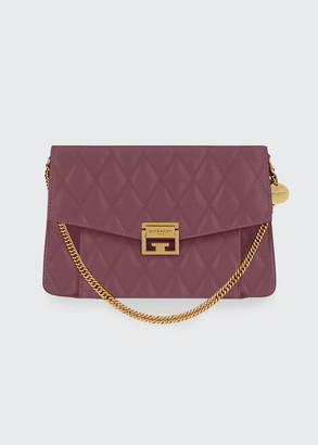 Givenchy GV3 Medium Losange Quilted Leather Shoulder Bag