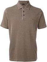 Z Zegna embroidered logo polo shirt - men - Cotton - S