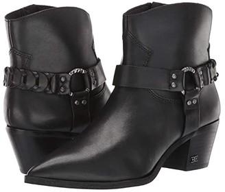 Sam Edelman Riker (Black Vaquero Saddle Leather) Women's Shoes
