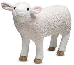 Melissa & Doug Plush Sheep - Ages 3+