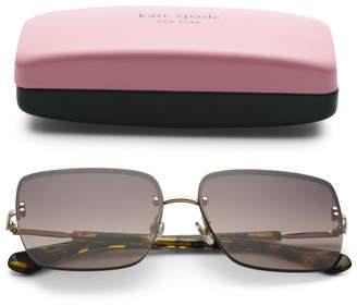 61mm Janay Square Designer Sunglasses