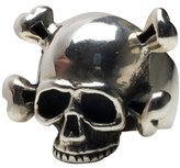 Femme Metale Jewelry Cross Bones Ring
