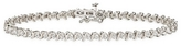 1 Carat Diamond 10K White Gold Tennis Bracelet