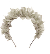 Flock Silk Floral Headband