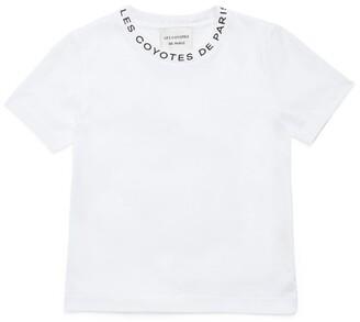 LES COYOTES DE PARIS Lola Logo T-Shirt (8-16 Years)