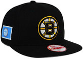 New Era Boston Bruins Flag Stated 9FIFTY Snapback Cap