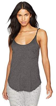 The Luna Coalition Women's Soft Cotton Twist Tank Small Sage