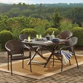 Bed Bath & Beyond Barrington Wicker Folding Dining Table