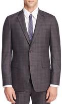 Theory Kenton Plaid Slim Fit Sport Coat