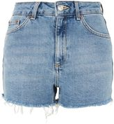 Topshop MOTO Premium Comfort Stretch Mom Shorts