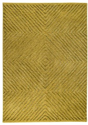 "Wilma Union Rustic Yellow Area Rug Union Rustic Rug Size: 5'6"" x 7'10"""